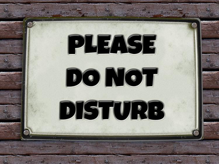 geralt, do not disturbe