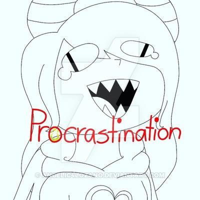 procrastination_by_angelic4lozano-dcsqbl0